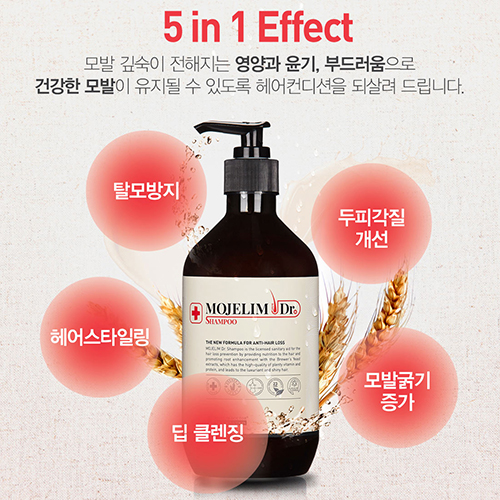 MOJELIM Dr.Shampoo 500ml / The New Formula for Anti-Hair Loss  / Authentic / International Shipping from Korea picture 4